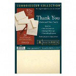 "Southworth ""Thank You"" Cards, Ivory, 80/24 lb., 20/Box"
