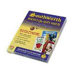 Southworth Photo Quality Matte Ink Jet Paper, Bright White, 36 lb., 8 1/2x11, 100 Sheets/Pack