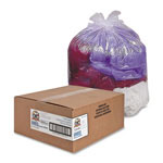"Sparco Clear Trash Bags, 33 Gallon, 0.6 Mil, 33"" X 39"", Box of 250"