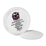 "Sparco Premoistened Hand Cleaning Pads, 3"" Diameter"