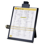 "Sparco Black Adjustable Easel Document Holder, 10 3/8"" x 2 1/4"" x 12 1/2"""