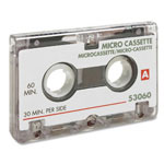 Sparco Dictation Cassette, Micro, 60 Minute