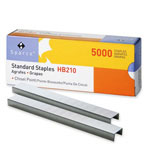 "Sparco Standard Staples, Chisel Point, 1/2"" Width, 1/4""Lengh, 210 Strip"