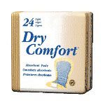 Tena Dry Comfort Incontinence Pad, Light Absorbency