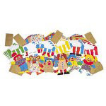 Roylco Paper Bag Puppet Class Pack