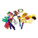 Roylco Craft Stick Puppet Pack