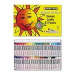Sakura Cray Pas Junior Artist Oil Pastels, White