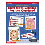 Scholastic Easy Math Lessons for the Overhead