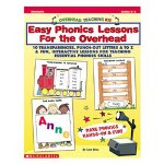 Scholastic Easy Phonics Lessons for the Overhead