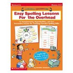Scholastic Easy Spelling Lessons for the Overhead