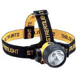 Streamlight Trident Headlamp Flashlight, White LEDs, Batteries, 2 Straps, Yellow