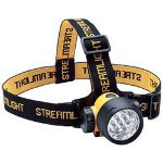 Streamlight Septor Headlamp Flashlight, Batteries, 2 Straps, Yellow
