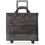 "Stebco / Bond Street Business Case On Wheels, 11"" x 19"" x 16"", Black"