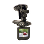 "GSM Outdoors Dash Cam with 2.5"" Color LCD, HD DVR"