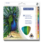 Staedtler Tradition Colour Pencil Set, 24-Piece, Multi