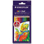 Staedtler Colored Pencil, Assorted, 12/Pack