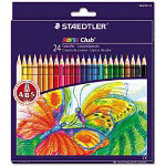 Staedtler Colored Pencil, Assorted, 24/Pack
