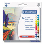 Staedtler Oil Pastels, 24-Color Set, Assorted, 24/Pack