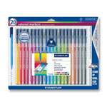 Staedtler Markers, Water Based Ink with Fiber Tip, Assorted