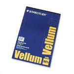 Staedtler All Purpose Translucent Vellum, 11 x 17, 50 Sheet Pad