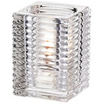 Sterno Kelly Flameless Candle Holder, Clear