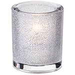 Sterno Sula Flameless Candle Holder, Clear