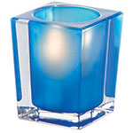 Sterno Signature Flameless Candle Holder, Blue