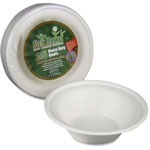 Stalk Market Compostable Tableware, 11.5 oz Bowls, White, 300/Carton