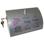 Stout Tidy Girl Bag Dispenser for Sanitary Napkin Disposal Bags, Holds One Roll