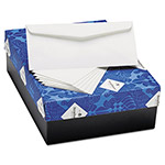 Strathmore Paper 25% Cotton Business Envelopes, Bright White, Wove Finish, 24 lbs, 4 1/8 x 9 1/2