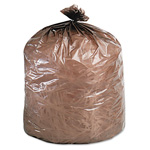 "Stout Clear Trash Bags, 39 Gallon, 1.1 Mil, 33"" X 44"", Case of 40"