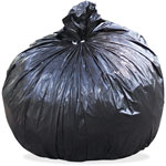 "Stout Recycled Brown Trash Bags, 45 Gallon, 1.5 Mil, 36"" X 58"", Case of 100"