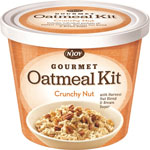 Sugar Foods Oatmeal Cup, Crunchy Nut, 8/PK/DS, Orange