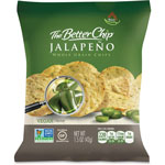 Sugar Foods Jalepeno Whole Grain Chips, 1.5oz., 27BG/CT, Green