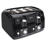 Sunbeam Extra Wide Slot Toaster, 4-Slice, 11 3/4 x 13 3/8 x 8 1/4, Black