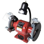 "Sunex 6"" Bench Grinder with Light"