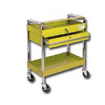 Sunex Service Cart w/Locking Top and Locking Drawer
