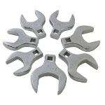 Sunex 7 Piece Jumbo Metric Straight Crowfoot Wrench Set