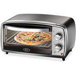 Jarden Home Brands Toaster Oven, 4-Slice Cap, Stainless Steel