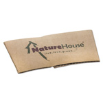 NatureHouse® Hot Cup Sleeves, Fits 10, 12 16oz Cups, 1000/Carton