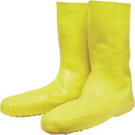 Servus Disposable Latex Booties, X-Large, Slip-Resistant, Yellow