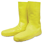 Servus Disposable Latex Booties, XX-Large, Slip-Resistant, Yellow