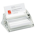 Swingline Stratus Acrylic Business Card Holder, Holds 40 3 1/2 x 2 Cards, Clear