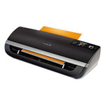 Swingline Fusion 5100L Laminator Plus Pack with Ext Warranty and Pouches, Black/Silver