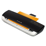 Wilson Jones Fusion 3000L Laminator Plus Pack with Ext Warranty and Pouches, Black/Silver