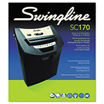 Swingline ShredMaster SC170 Light-Duty Strip-Cut Shredder, 12 Sheet Capacity