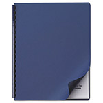 "Swingline Linen Textured Binding System Covers, 11 1/4""x8 3/4"", Navy, 50 per Pack"