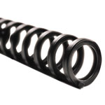 "Swingline ProClick Easy Edit Spines, 5/8"" Diameter, 110 Sheet Capacity, Black, 100/Box"