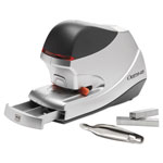 "Swingline Silver Electric Stapler with 45 Sheet Capacity, 1/4"" 1 1/4"" Throat"
