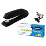 Swingline 545 Economy Stapler, With Staples & Remover, Black